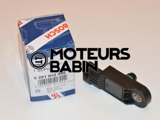 Bosch 0281002566 - 0281002996 - Capteur pression suralimentation Renault Mégane II Scenic II 0281 002 566 - 0281 002 996 - 223680001R - 22 36 500 01R