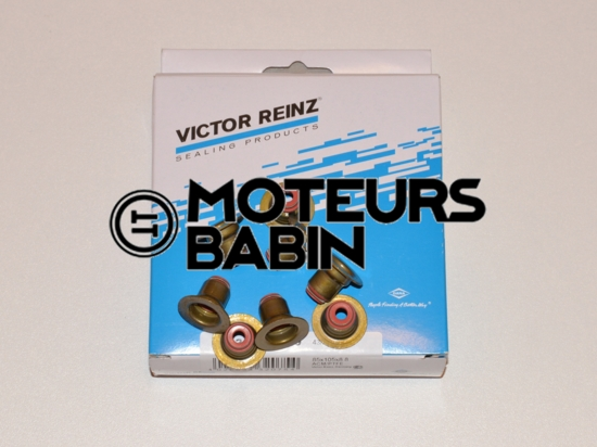 Joints queues soupapes Peugeot 107 1007 206 207 307 Bipper Citroen C1 C2 C3 Nemo 1.4 HDI 70 | Reinz  12-35548-01 - 095650 - 0956.50