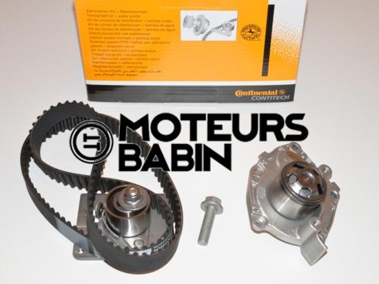 Kit distribution / pompe à eau Renault Laguna II Espace IV Trafic 1.9 DCI Continental CT1025 WP2 - CT1025WP2 - 7701477050 - 77 01 477 050 - 7701479043 - 77 01 479 043
