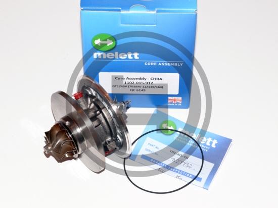 Garett 708639 - CHRA turbo 1.9 DCI 120 7701478024 - 7711368748