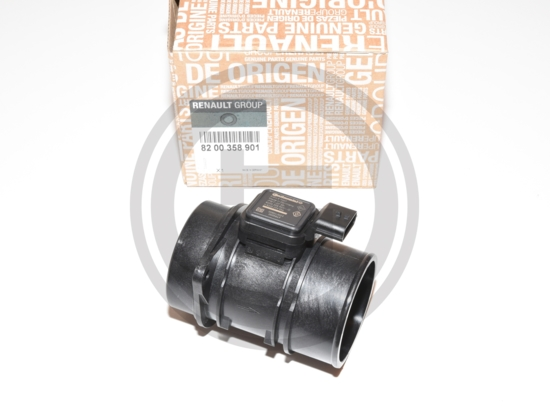 VDO Continental Siemens 5WK97007Z - 5WK9 7007Z - Débitmètre air Renault Clio III Laguna III 1.5 DCI 70 85 105 8200358901 - 82 00 358 901